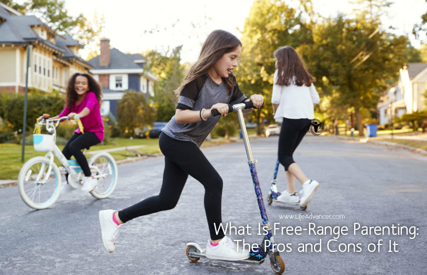What Is Free-Range Parenting The Pros and Cons of It