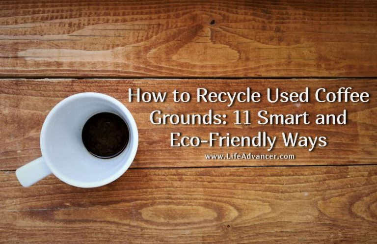 How to Recycle Used Coffee Grounds in Your Home and Garden